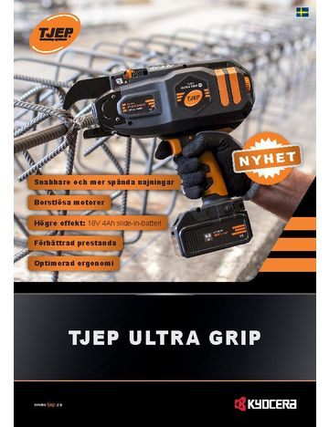 TJEP ULTRA GRIP brochure - SE