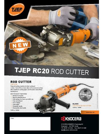 TJEP RC20 Rod Cutter