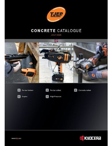 TJEP Concrete catalogue 2020