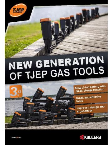 New generation of TJEP GAS tools