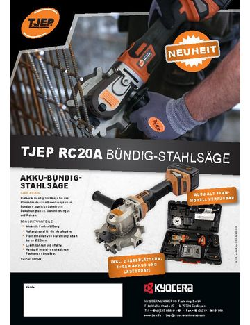 TJEP RC20A/RC30A Rod Cutter