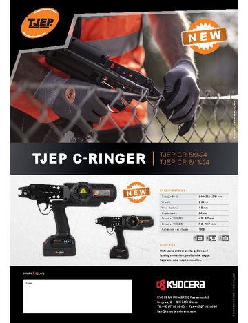 TJEP C-ringer flyer - UK
