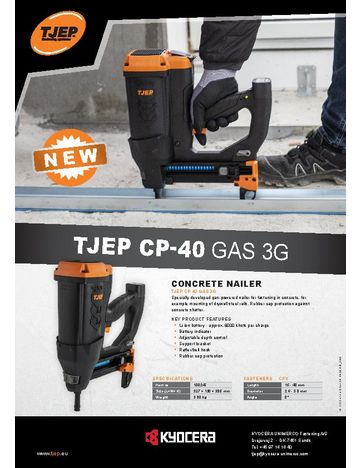 TJEP CP-40 GAS 3G